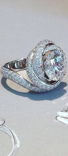I never thought I'd want a round diamond until I saw this Cartier engagement ring #love #littleredbox