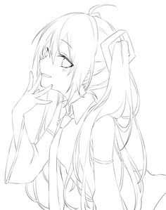 Dark Art Drawings, Art Drawings Sketches Simple, Pony Drawing, Drawing Base, Lineart Anime, Anime Dancer, Emo Anime Girl, Manga Drawing Tutorials, Anime Character Drawing