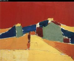 Nicolas de Stael Abstract Figure oil painting picture