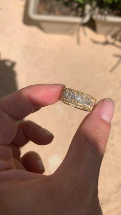 Beautiful Wedding Rings, Wedding Rings For Women, Perfect Engagement Ring, Engagement Rings, Diamond Jewelry, Jewelry Rings, Jewlery, Rose Cut Diamond, Ring Designs