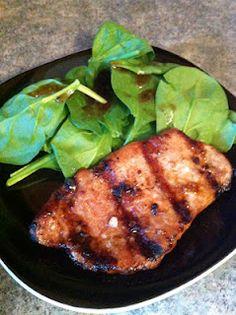 Asian Glaze Grilled Pork Chops. GREAT marinade recipe! Really easy!