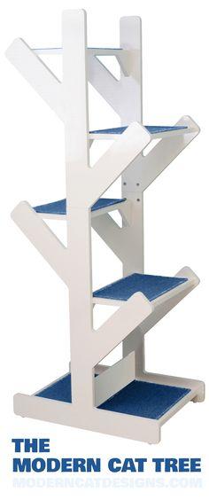 Cat Tree Design Ideas, Simple DIY Cat Furniture