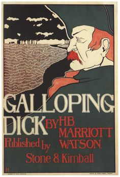 Vintage Poster Galloping Dick Frank Hazenplug Giclee Print on Etsy, €5.99