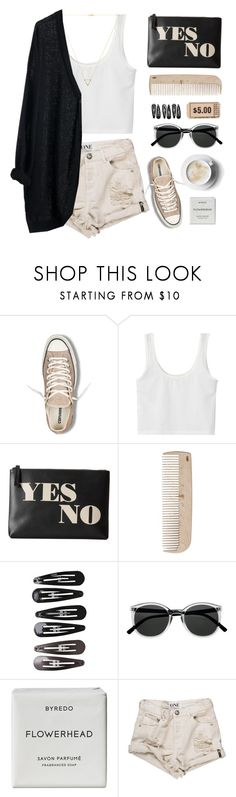 """""""Polished"""" by via-m on Polyvore featuring moda, Converse, Jonathan Adler, HAY, Clips, Byredo, Wanderlust + Co, MTWTFSS Weekday, Fall ve autumn"""