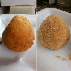 #primaedopo #beforeandafter #myrecipe #arancini #arancini #rice #ricette #fritti #riso #foodgasm #foodporn #foodstagram