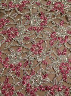 #hautecouture #beadedfabrics #highfashion #fashionfabrics #exclusivefabrics #highendfabrics #expensivefabrics #crystalfabrics #fabricswithcrystal #runway #hautecouturerunway #beadedlace #beadedtulle #embroideredtulle #sequin #crystals #diamonds #crystalfabric #designer #designerfabric #luxury #luxuriousfabrics #onlinefabrics #fabricsonline #rexfabrics #rexfabricsmiami Hand Work Embroidery, Couture Embroidery, Silk Ribbon Embroidery, Embroidery Fashion, Hand Embroidery Designs, Embroidery Patterns, Tambour Beading, Designer Blouse Patterns, Bridal Blouse Designs