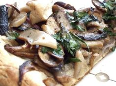 Mixed Mushroom Pizza Recipe