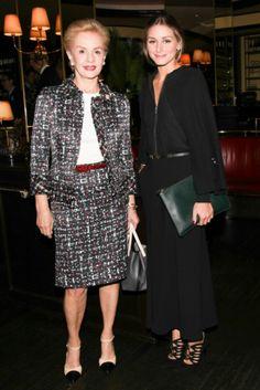 Olivia Palermo and Carolina Herrera....love them both!