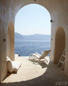 Greek island of Santorini