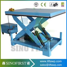 2017 SINOFIRST ChinaFixed Low Profile with Very Good Quality Type Scissor Lift Platform for Hot Sales with CE Very Low price #Affiliate