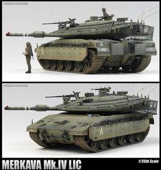 Merkava Mk.4 model