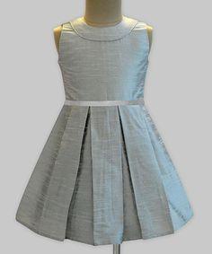 Another great find on #zulily! Silver Audrey Dress - Infant, Toddler & Girls #zulilyfinds