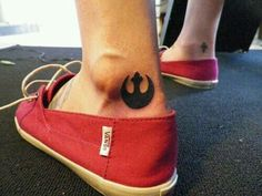 Rebel alliance tattoo