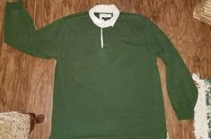 1eee82ea69a Vintage J. Crew Longsleeve Polo Rugby Shirt Men's XL #fashion #clothing  #shoes