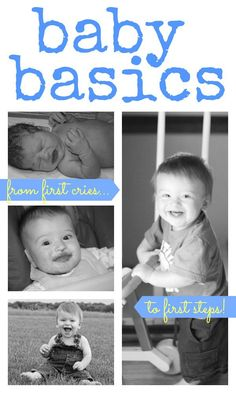 Baby Basics:  Resources, Advice, and Activities for Babies 0-12 Months (and up)