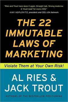 Marketing - Learn it or don't spend money on it.