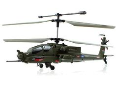 (Syma S113G Apache Military Coaxial RC Helicopter w/ Gyro) Can be viewed at http://direct-drones.com/product/syma-s113g-apache-military-coaxial-rc-helicopter-w-gyro/