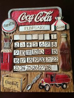 Coca Cola LIMITED EDITION Perpetual Calendar Number 083 of 1000