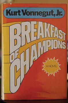 Breakfast of Champions | Kurt Vonnegut, Jr. | Delacorte Press | 1973 | first edition, first printing