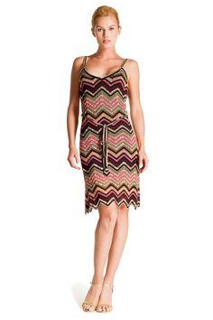 Crochet ripple dress. love it
