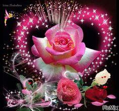 Resultado de imagen para gifs animados flores bellas separadores