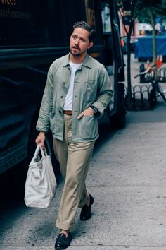 The best Fashion Week street style for men.