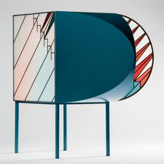 Salone del Mobile 2016 | Patricia Urquiola and Federico Pepe create stained-glass doors for Credenza cabinets