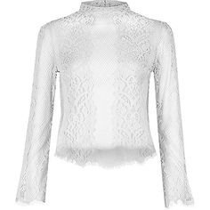 Image result for riverisland lace tops