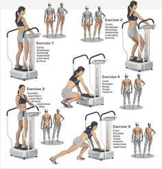 power plate exercises