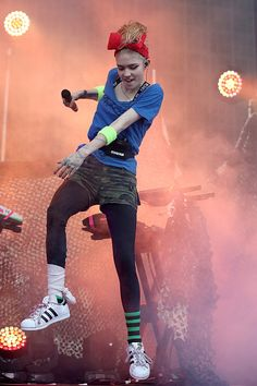 grimes-claireboucher.tumblr.com - Claire Boucher, known as Grimes performs at the St...