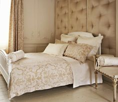Golden and White room