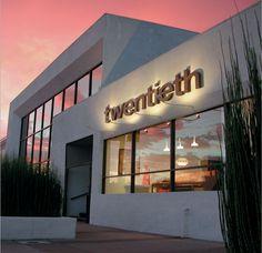 Cool. Industrial. Grey cement color. Modern Storefront Design   2Modern Design Talk - Modern Furniture & Design Blog: