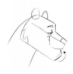 Cartooning Animals – the Tiger by Christopher Hart Tiger Drawing, Big Cats, Art Tutorials, Cartoon, Drawings, Free, Animals, Kunst, Sketches