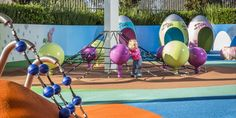 Rouse Hill Centre Playground. Art Dinouveau's custom design and build of play equipment for GTP Group. #play #equipment #playspace