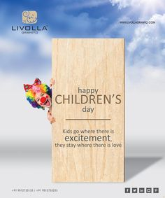Livolla Granito is the ISO & CE certified Porcelain Slab Tiles gvt & pgvt Porcelain vitrified tiles, Porcelain granite tiles manufacturer & exporter from india Happy Children's Day, Happy Kids, Children's Day Wishes, Be Yourself Quotes, Make It Yourself, Vitrified Tiles, Tile Manufacturers, Child Day, Free Quotes