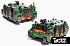 Warhammer 40k Salamanders Movie Marines Rhino