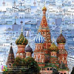 Mosaic Photo Collage created using Artensoft Photo Collage Maker ...