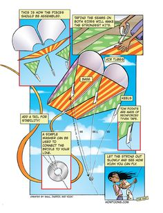 diy kite from HOWTOONS website