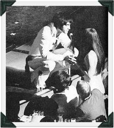 Elvis and Priscilla, Las Vegas 1970