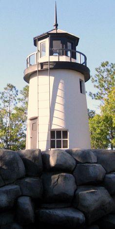 Universal Orlando - Universal Studios - Jaws - Amity Island Lighthouse