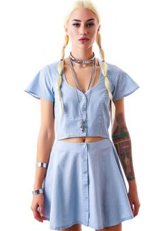 For Love & Lemons Austin Circle Skirt