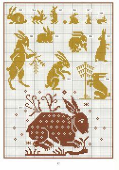 Hares. Gallery.ru / Фото #109 - Repertoire des motifs - Orlanda