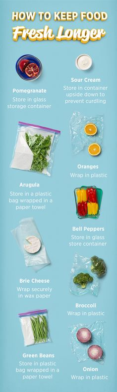 Here are a few tips to keep your produce fresh longer. Your holiday platters and casseroles will thank you.