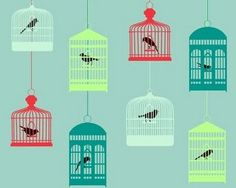 Love birdcages!