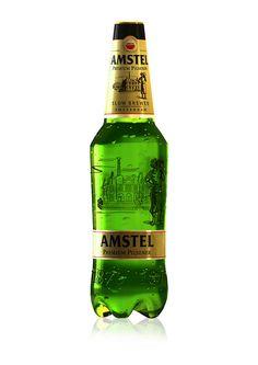 Amstel Premium Pilsener in plastic bottle