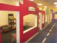 BusyKidz is an indoor play-city-in-miniature in Folsom, CA designed to encourage pretend play for the ten and under set.  We provide reality based tools to jumpstart the imagination and to bring the experience to life.  Since BusyKidz is not a drop-off facility, we have provided parents a large cafe style waiting area where they can relax and supervise from afar in comfort, utilizing our free WiFi, and enjoying coffee or tea available for sale while their children play.…