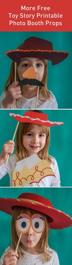 More FREE Toy Story printable photo booth props -