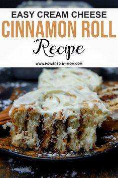 Make this Cream Cheese Cinnamon Roll Recipe for a surprise treat your family will love! Cinnamon sugar in soft rolls topped with homemade cream cheese icing! Homemade Cream Cheese Icing, Coconut Poke Cakes, Delicious Desserts, Dessert Recipes, Chocolate Dipped Fruit, Roll Recipe, Instant Yeast, Cinnamon Cream Cheeses, Soup And Sandwich