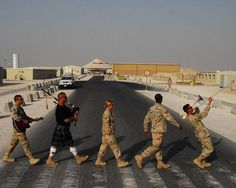 Found on Twitter & just too fun not to share with you all. : ) Abbey Road:@UniformStories #Military Style