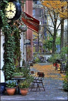 Autumn Coffee Shop